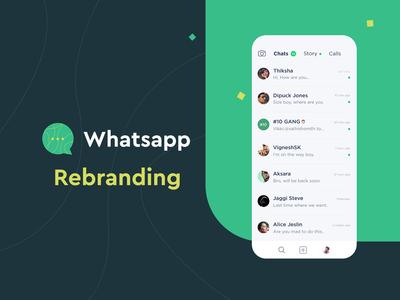 Whatsapp rebranding