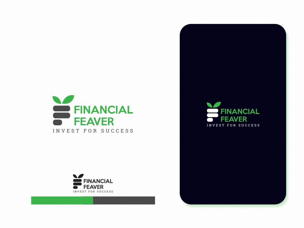 Financial Feaver invest feaver finance business finance design dribbble branding concept branding logo