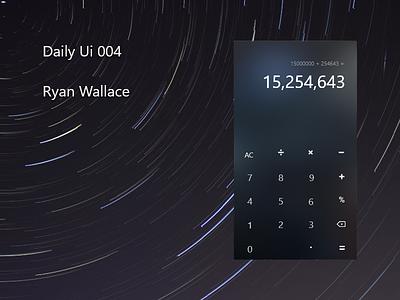 #004 Daily Ui - Calculator. 004 dailyui004 calculator dailyui daily-ui