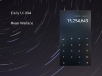 #004 Daily Ui - Calculator.
