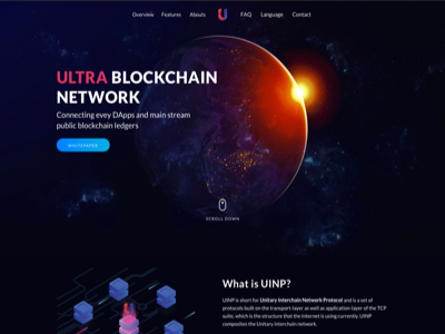 UINP Blockchain project in China