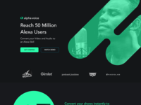 AlphaVoice Landing Page