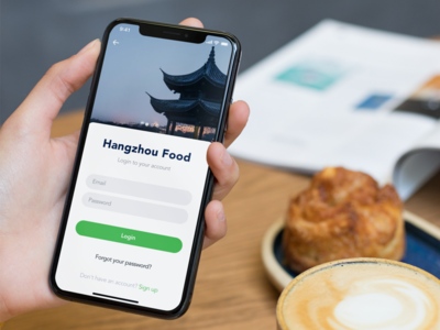 App for foodies in Hangzhou