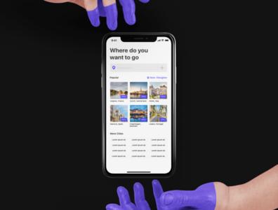 Carpool app design