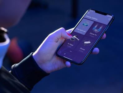 E-commerce mobile platform