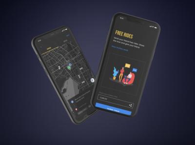 "Retro concept idea similar to the Chinese app ""Didi"""