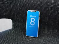 Iphone8 ios11 mockup 2017
