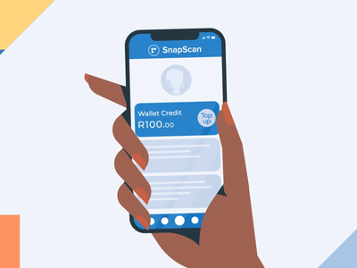 Snapscan Intro branding design motion illustration graphics character after effects south africa motion graphics gif lucan cape town 2d animation animation 2d
