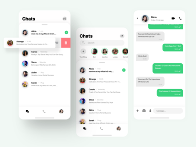 Whatsapp Design Exploration