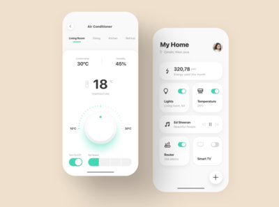 Smart Home App Design Exploration