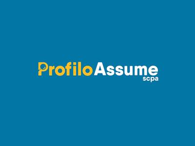 Profilo Assume brand   logo   logos vector graphic design identity branding