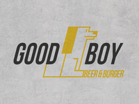 LOGO DESIGN / GOOD BOY BEER&BURGER