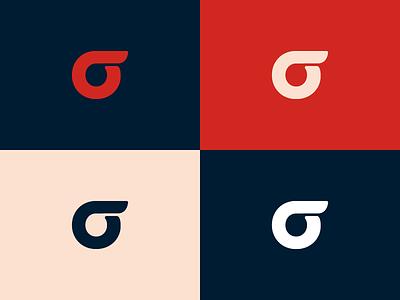 Financial Risk Hub Logo circular sign geometric brand branding logo finance financial