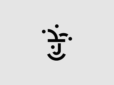 Jester Sign golden ratio simple branding brand geometric sign logo