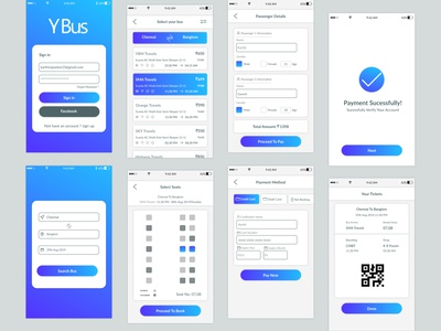 Y Bus | Bus booking