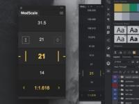 Scale 1.0 golden ratio typography helper