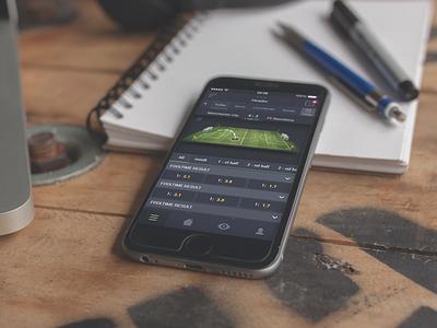sportsbook app ui ux design bookmaker soccer football gaming betting sport sportsbook