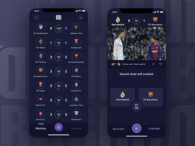 Desk Bet - Betting app UI Concept sportsbook book sports casino betting bet ux design ui