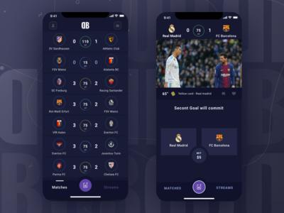 Desk Bet - Betting app UI Concept
