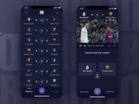 Desk Bet - Betting app UI Concept