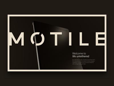 Life Untethered modern webdesign web design render cinema 4d lighting c4d coronarender 3d digitalart web motile