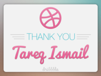 Thank You, Tareq Ismail