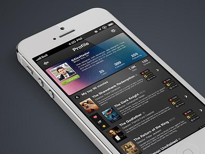 Untitled iOS app design untitled ios app application iphone ipad slick simple black white 7 ios7