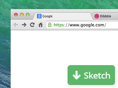 Chrome Freebie (Sketch) sketch freebie ui chrome dibbble google download psd free new window mac