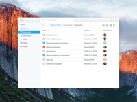 File explorer for Inevio