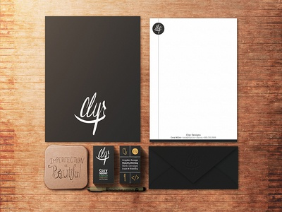 Identity Stationary // Clyr Designs