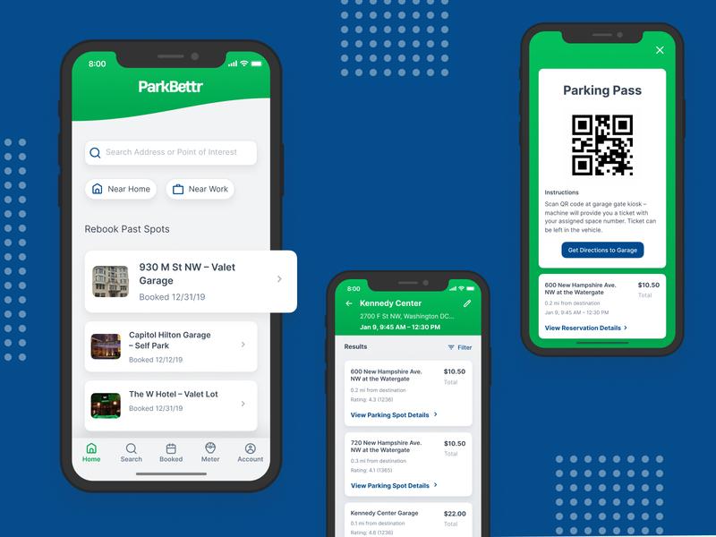 ParkBettr –Exploratory Smart Parking App