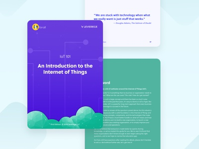 Introduction to the Internet of Things Free eBook illustration internet of things technology iot graphic design ebook cover ebook