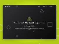 Portfolio Four-Oh-Four (404!)