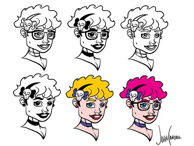 Character Design process design character