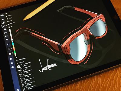 Glasses fashion concept design glasses