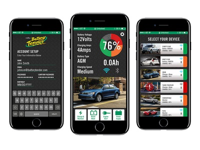 BT App Design Updates app design interface design ui