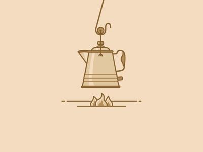 The Cowboy Coffee Pot