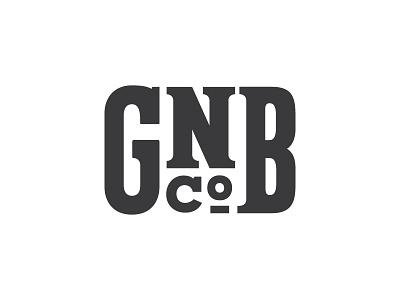Good Neighbors Brewing modified type custom type logo typography brewery