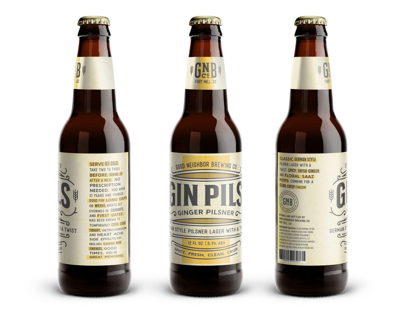 Beer branding mockup tan  1