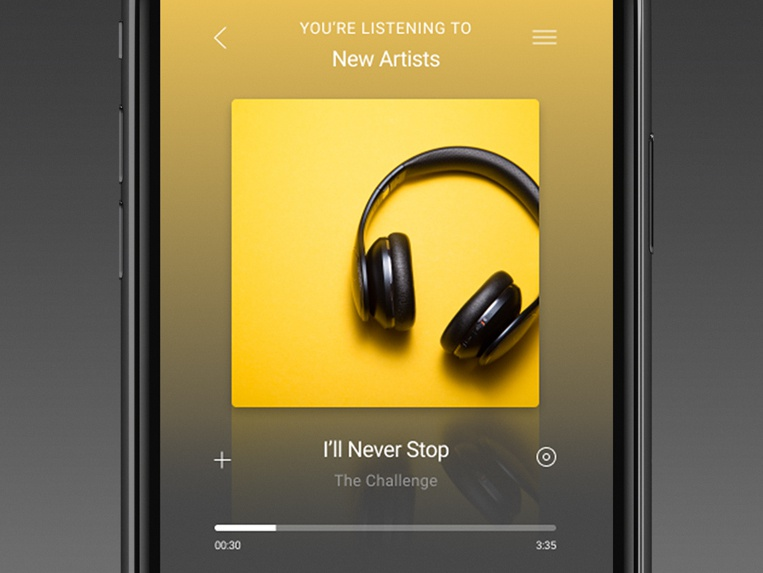 Musicplayer iphone