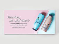 Ecommerce Banner - Pureology