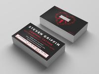 Business Card - Steve Griffin, Tattooer