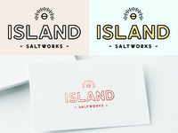 Island Saltworks Logo Concept