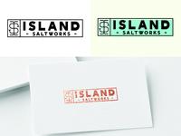 Island Saltworks Logo Concept V 2