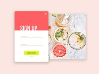 Sign Up - Daily UI