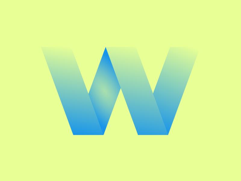 Typehue Week 23: W typography weekly type challenge design color design challenge w typehue
