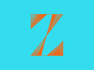 Z by Kenzie Brown via dribbble