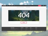 Cartrdge 404 – Web Design Concept