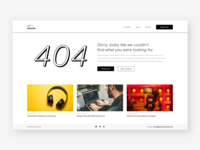 #008 404 Page – Daily UI Challenge