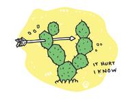 Cactus And Arrow